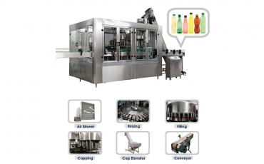 Carbonated Filling Machine - Acuapuro Water