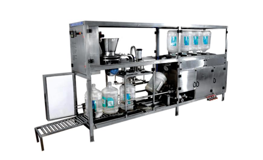 Fully Auto Jar Washing and Filling Machine - Acuapuro Water