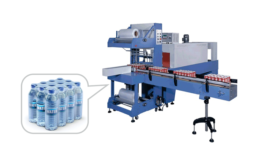 Fully Automatic Shrink Machine - Acuapuro Water